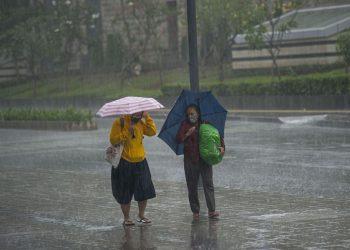 Ilustrasi hujan lebat. Foto: Net