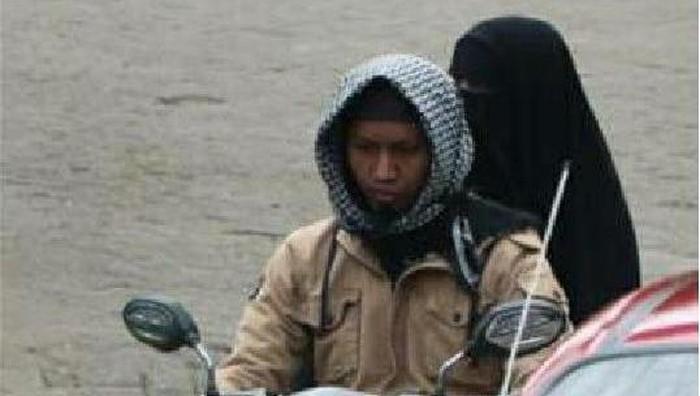 Dua pelaku terduga bomber Makassar (Istimewa)