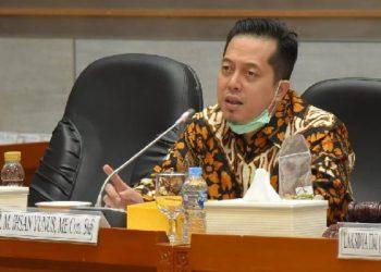 Ihsan Yunus pada Rapat Dengar Pendapat Umum/Net