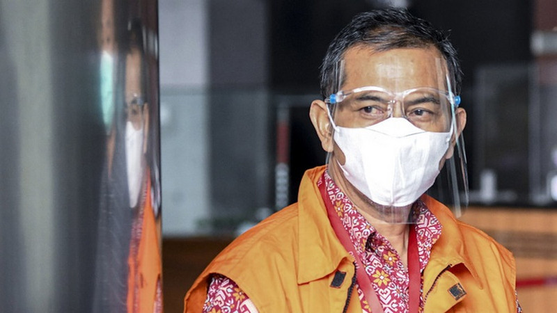Wali Kota Cimahi nonaktif Ajay Muhammad Priatna