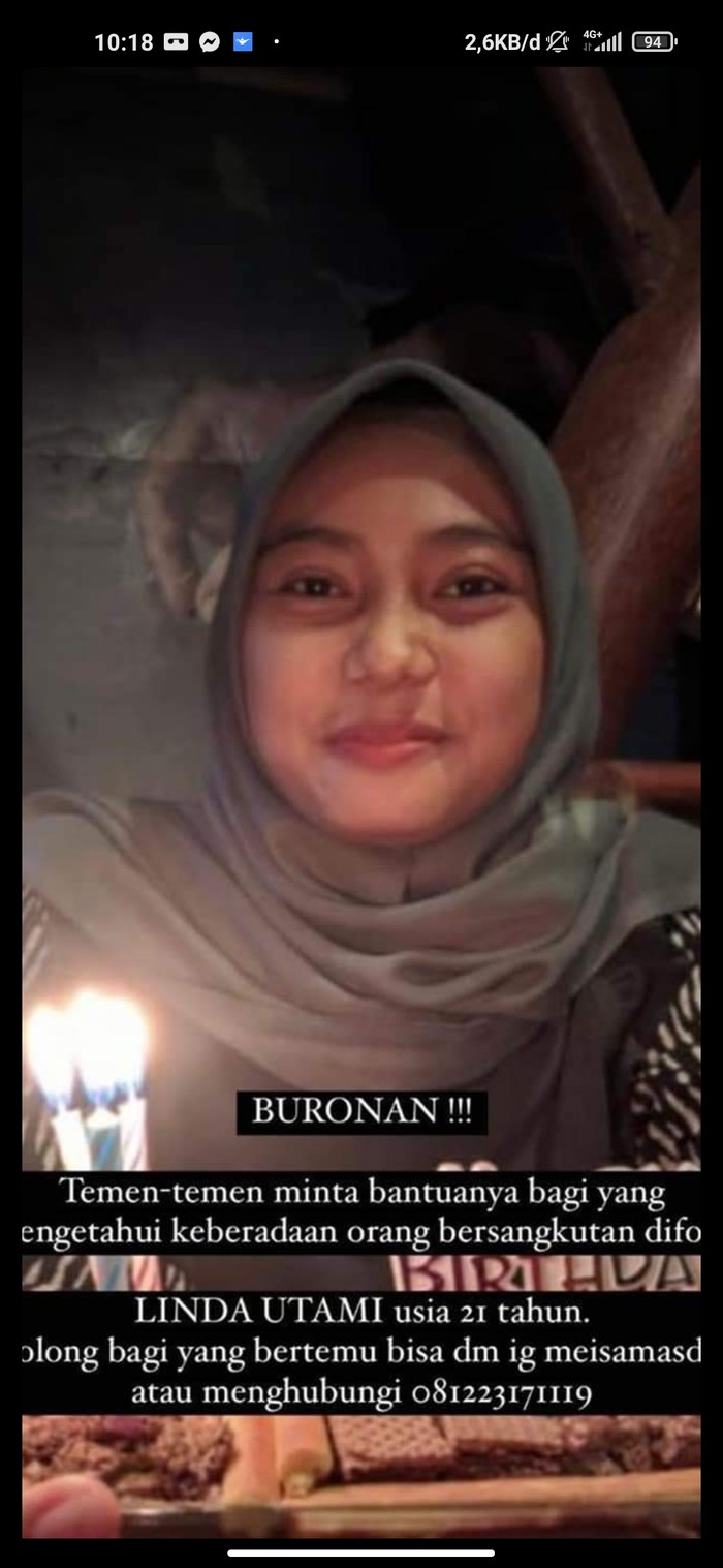 Wanita di Banjar diduga membawa kabur uang Rp 376 juta milik majikannya (Foto: Tangkapan layar Facebook)