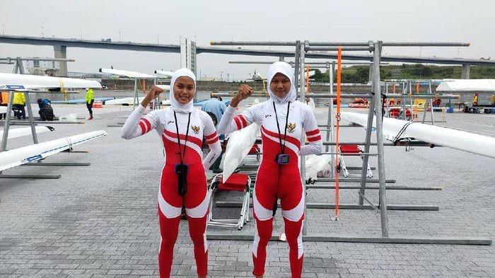 Mutiara Rahma Putri dan Melani Putri berhasil lolos ke Olimpiade Tokyo (Foto: Ist)