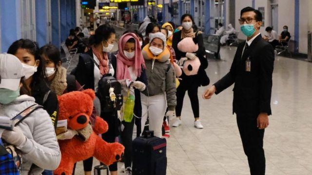 Pekerja migran Indonesia dari sejumlah tahanan di Depo Imigrasi Semenanjung Malaysia dipulangkan. Ilustrasi