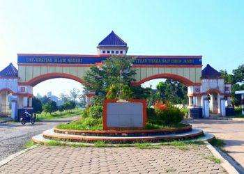 Gerbang utama kampus UIN STS Jambi. (Ist)
