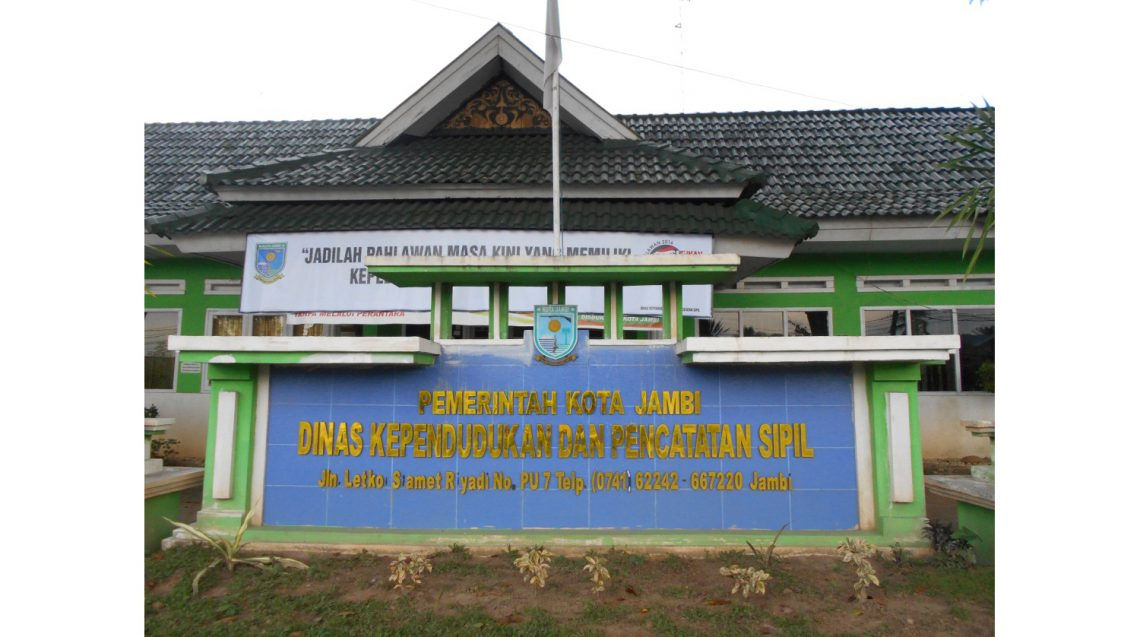 Kantor Dukcapil Kota Jambi. Istimewa